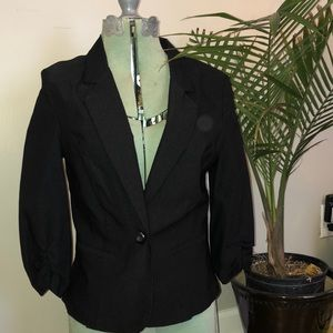 Black By & By Blazer - Size Small, Fitted